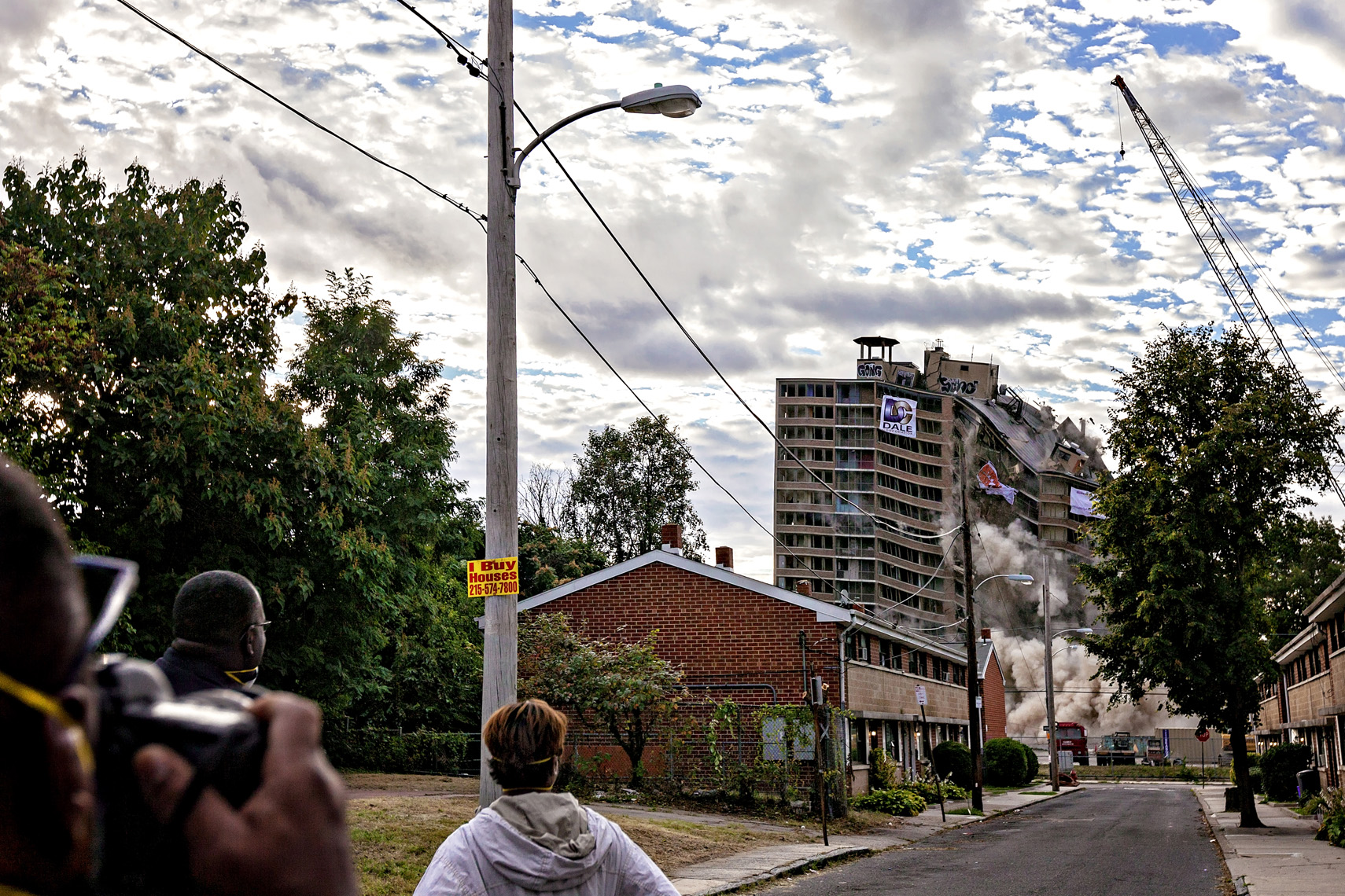Queen Lane implosion