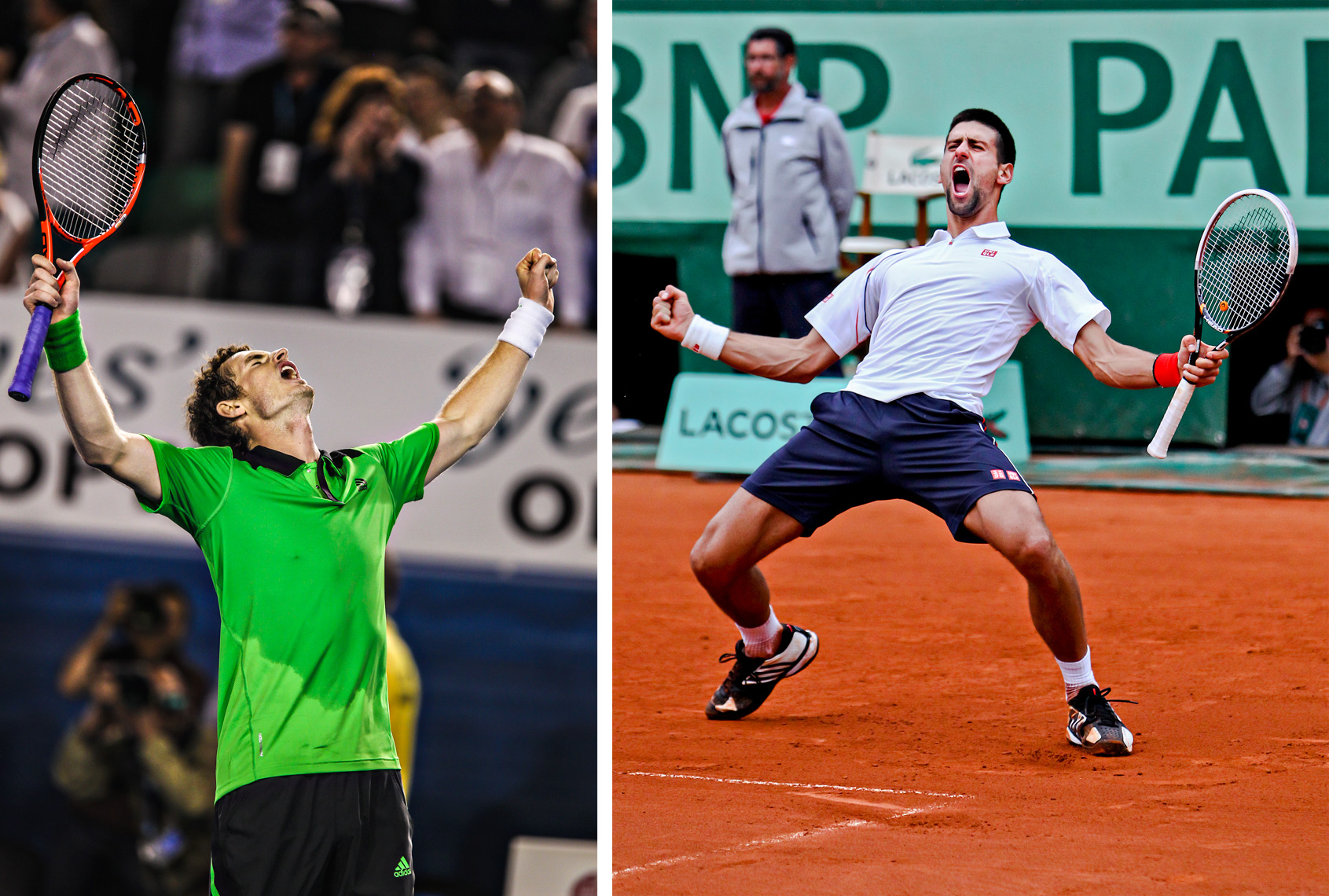 Andy Murray | Australian Open | Novak Djokovic | Roland Garros