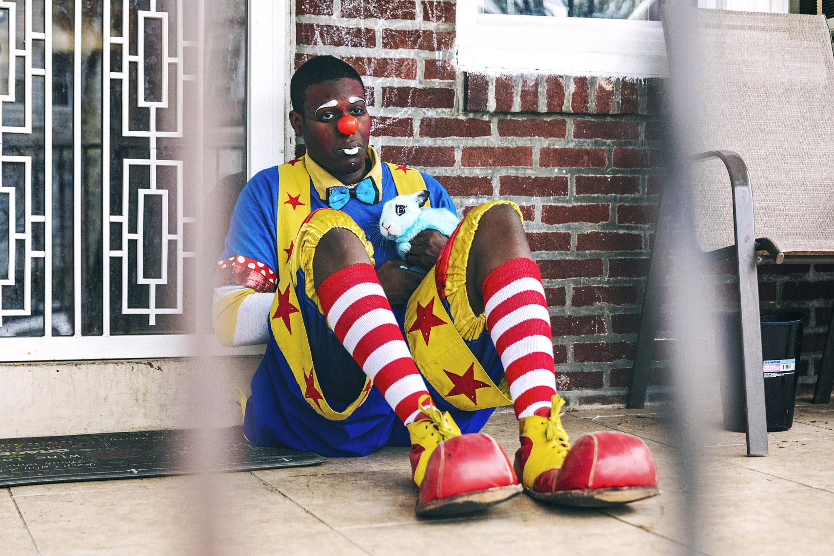 Quany The Clown quarantined